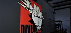 Dive In Food Truck Logo
