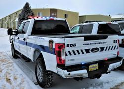Cheyenne PD Patrol F150 - Rear