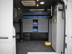 Foco Fiber Optics Van Storage
