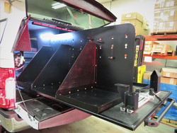 Custom Fab Equipment Organizer
