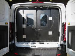 Longmont PD Jail Van Custom Fab Door