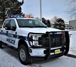 Cheyenne PD Patrol F150 - Front Bump