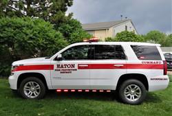 Eaton Fire '19 Tahoe Upfit