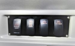 Denver PW Transit Vans Switch Panel