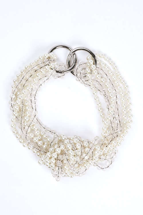 Statement Necklace Ivory