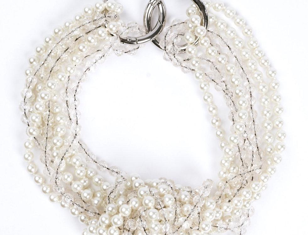 Statement Necklace Ivory