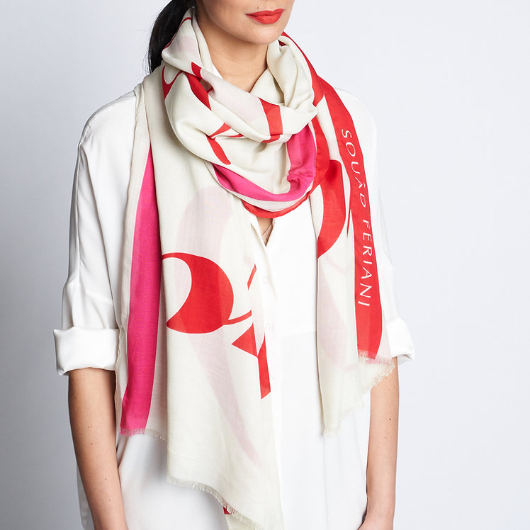 Our Love is Easy Calligraphy Shawl