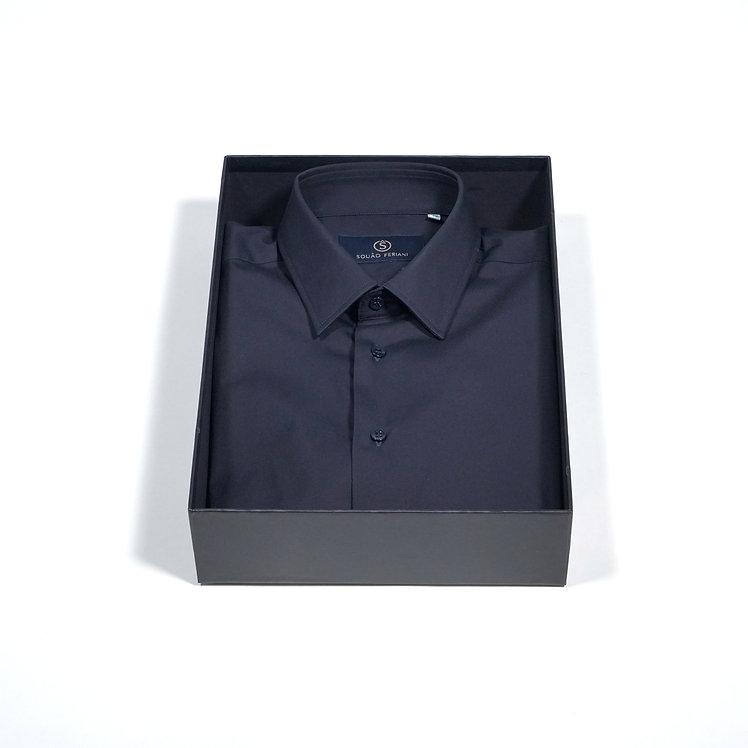 Basic Nina Shirt Dark Blue