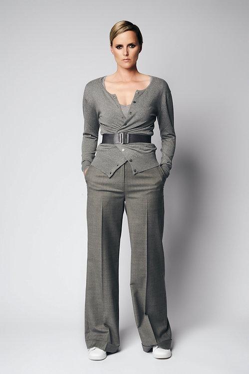 Reversible shirt Knit Grey