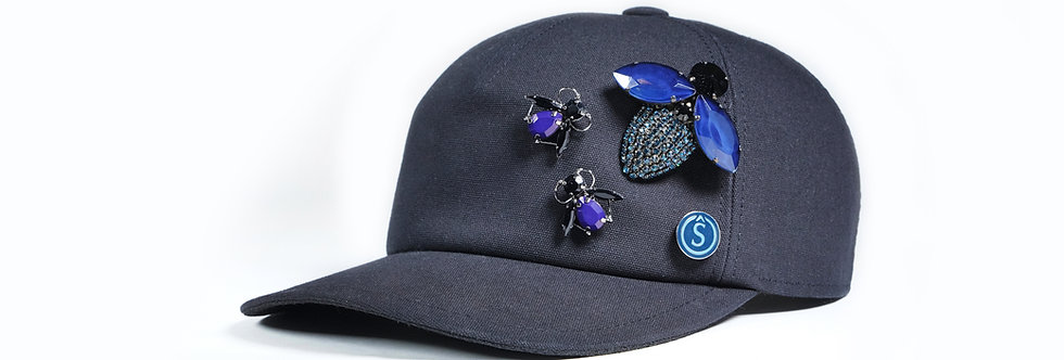 Souâd Feriani Cap With Brooches