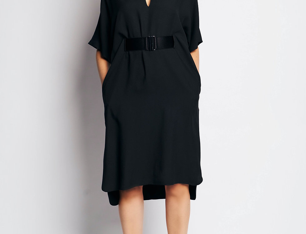 Sarita Dress Long Black