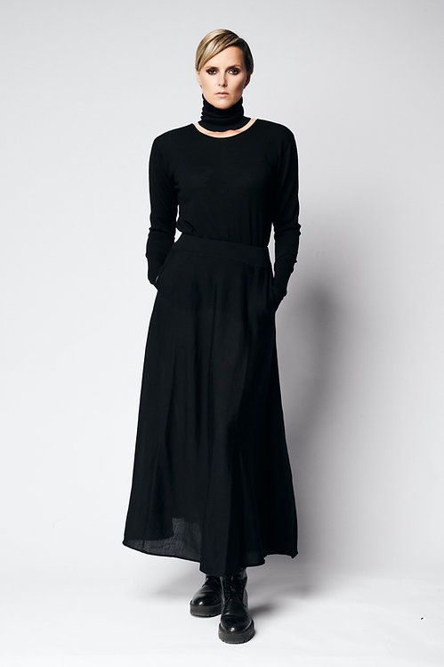 Reversible shirt Knit Black