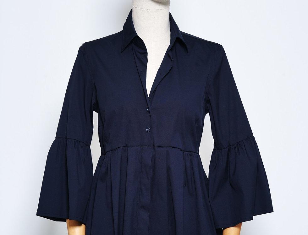 Shirt Vollant Blue Black