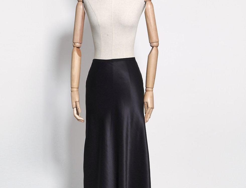 Tulip Skirt Silk Long