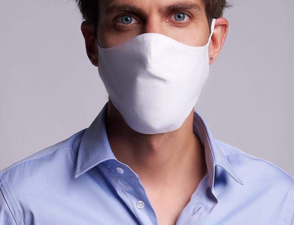Basic Face Mask Man White