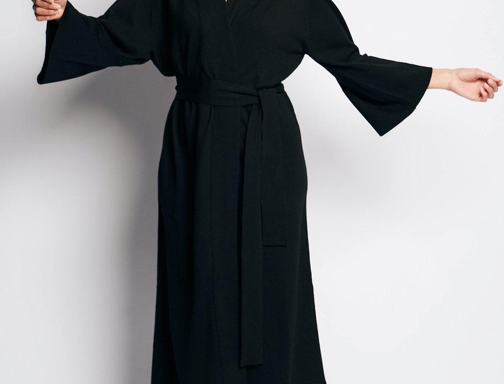 Kimono Long Black
