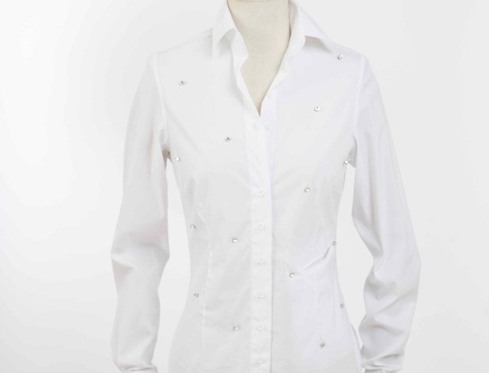 Basic Shirt small Crystal White