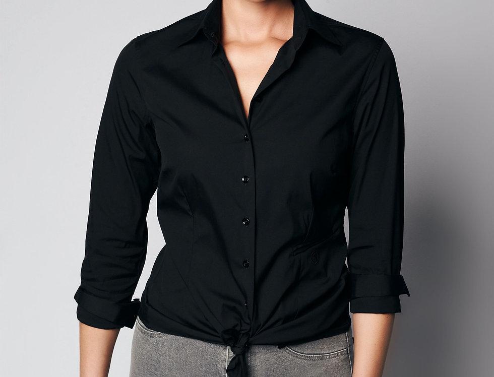 Basic Nina Shirt Black