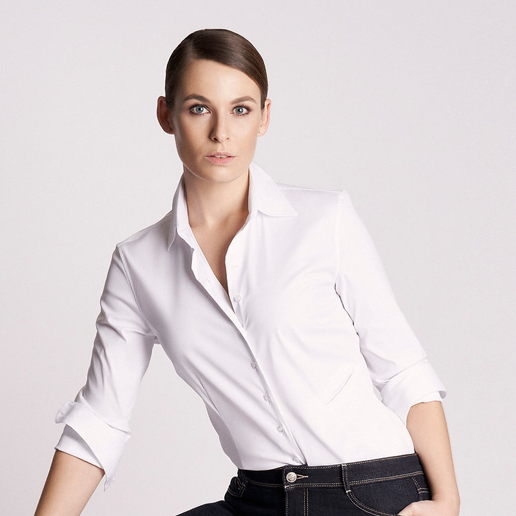 Basic Nina Shirt White