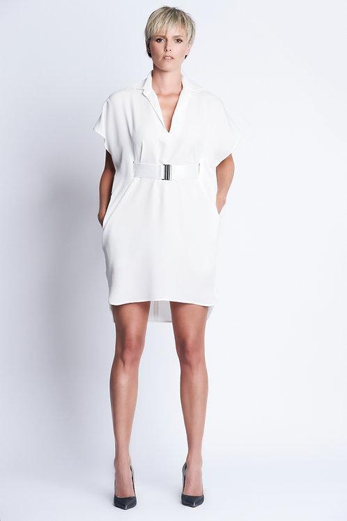 Sarita Dress White