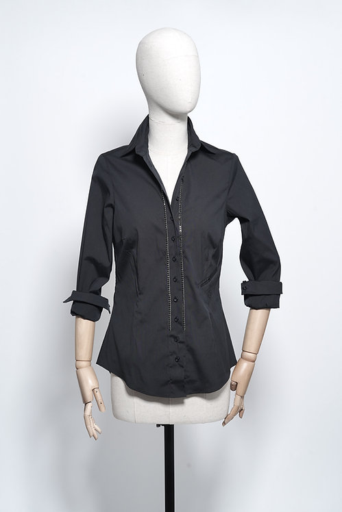 Black Shirt Crystal Seal
