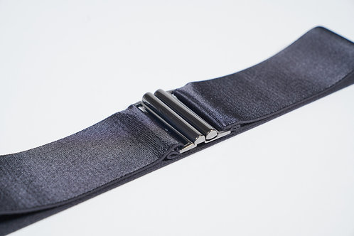 Elastic Waist Belt Black