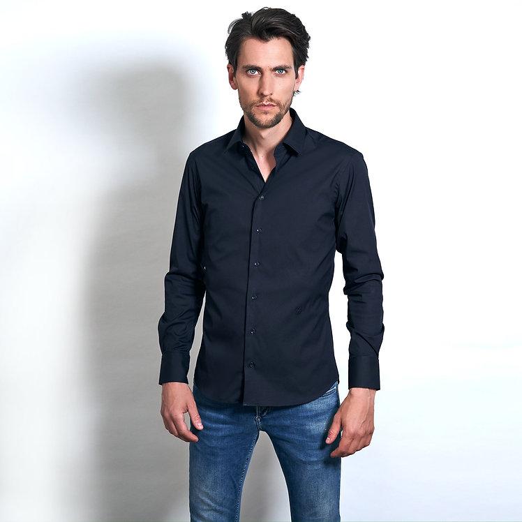 Lei Shirt Dark Blue