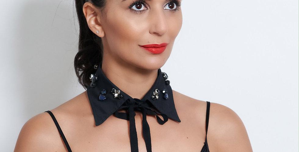 Crystal Collar Black