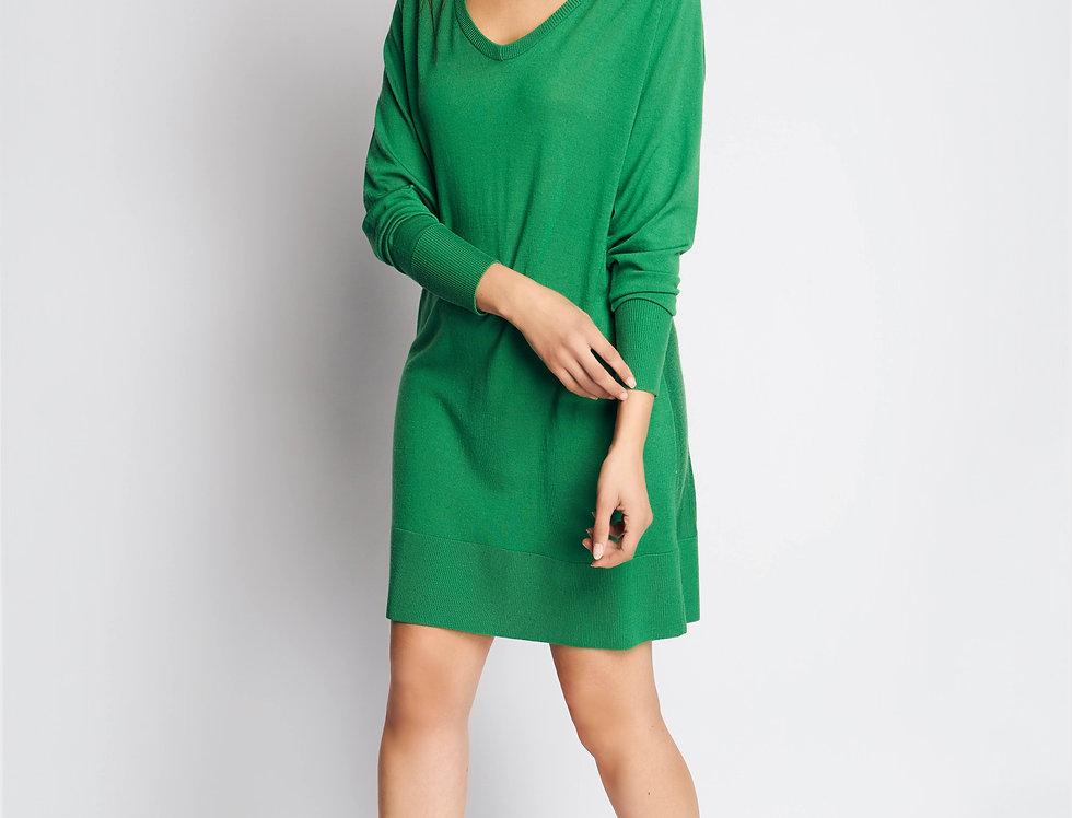 PULL 2 V knit green