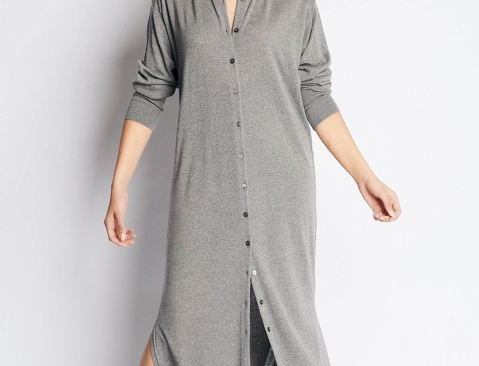 Tunic Knit Long Grey