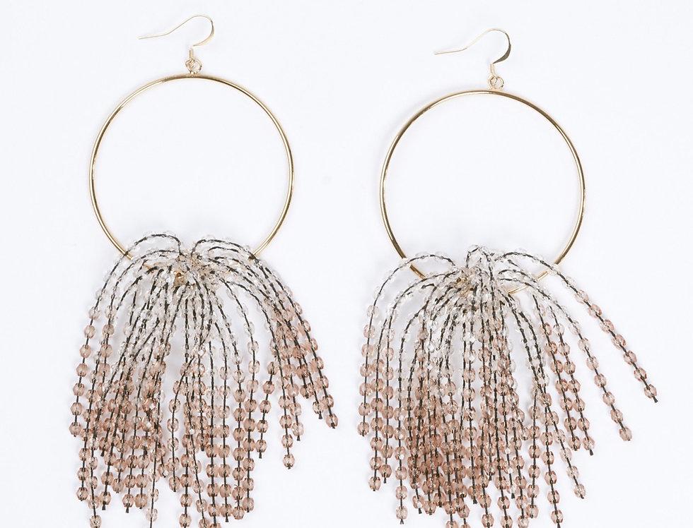 Earrings Waterfall Nude