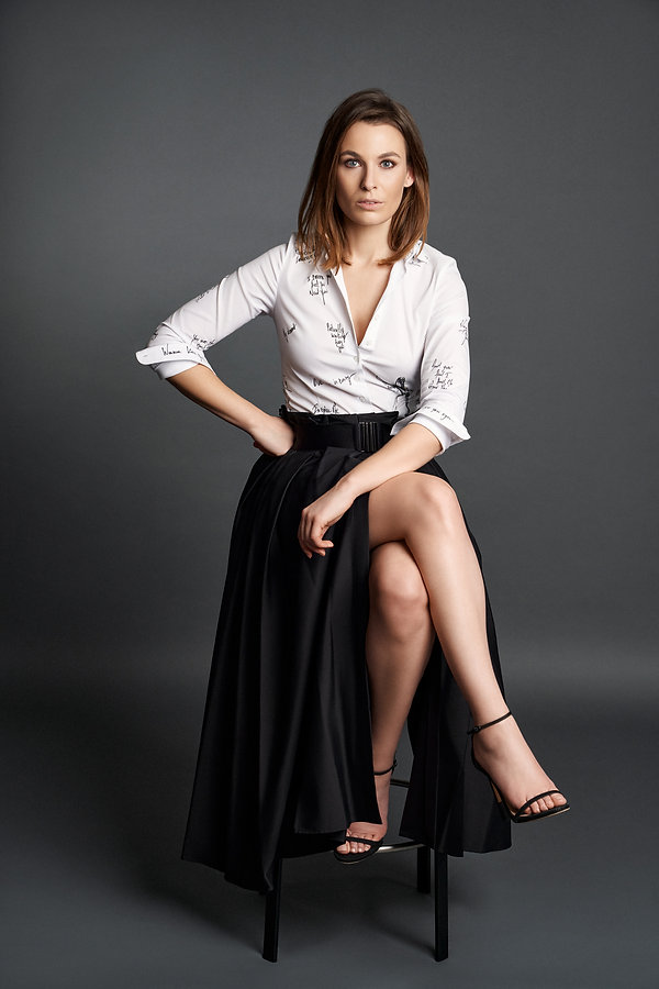 Nina Artshirt White