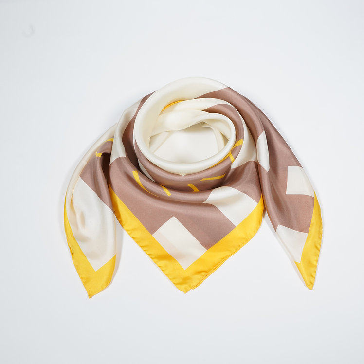 Graphic Silk Carré