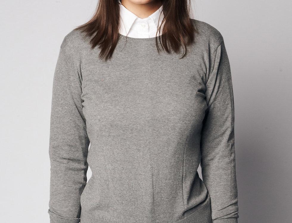 PULL/CARDI Knit Grey