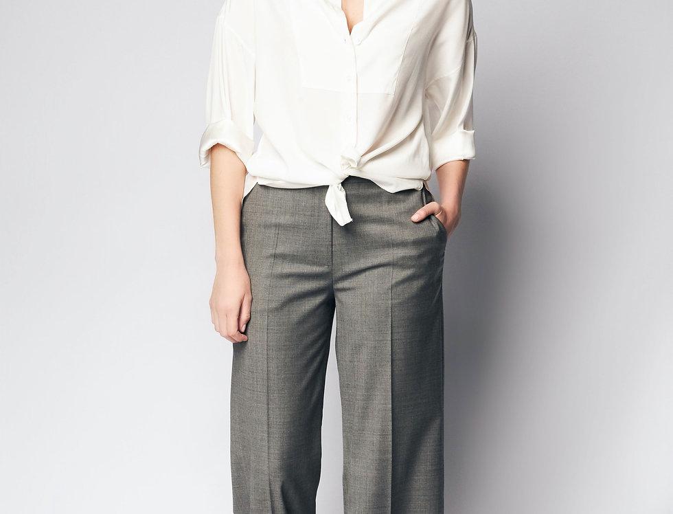 Loose Shirt Silk Ivory