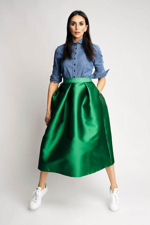 Sofia Skirt Green