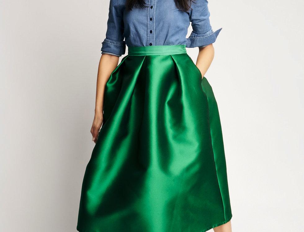 Sofia Skirt Green