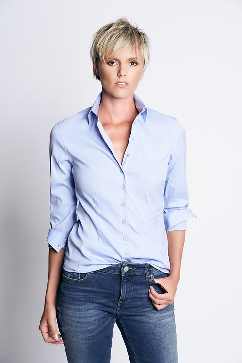Basic Nina Shirt Light Blue