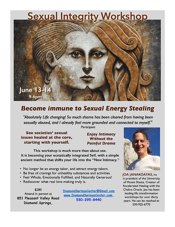 Sexual Integrity workshop Flier- Diamond