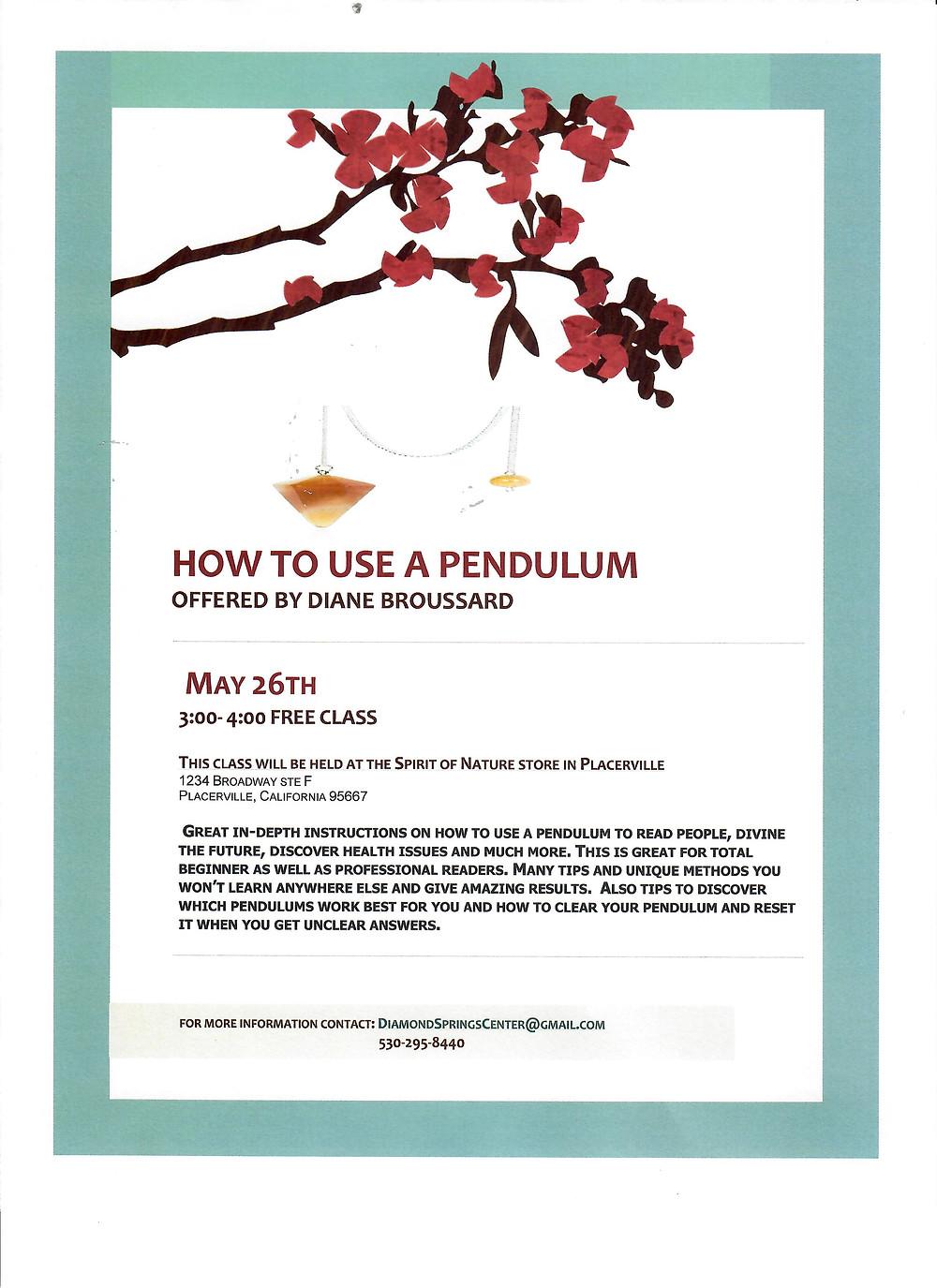 Free Pendulum Class