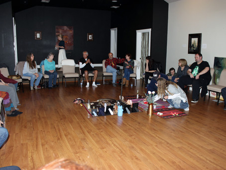 Placerville Drum Circle learned about Peruvian Shamanism