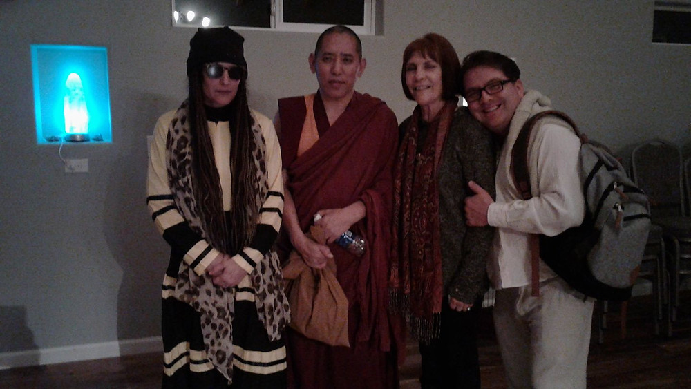 Wonderful event last Saturday at the Diamond Springs Spiritual Center with guest speaker Geshe Tsultrim