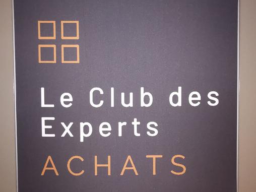 Lancement du club des experts achats