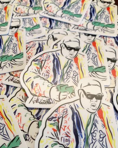Biggie Sticker Design By Tesoro Carolina