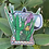 Thumbnail: Cafetera Holographic  Sticker