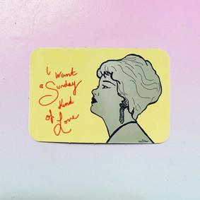 Etta James Sticker Design By Tesoro Carolina