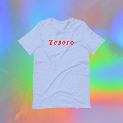 Tesoro Short-Sleeve Unisex T-Shirt in Pink or Blue by Tesoro Carolina