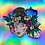 Thumbnail: Morning Glory  Holographic Sticker