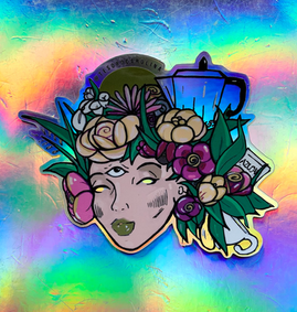 Sticker Design By Tesoro Carolina
