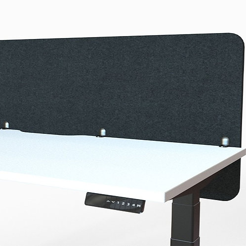 Autex Vicinity Desk Screen - 1800 x 600 - Colour: Empire - Design: Hedge